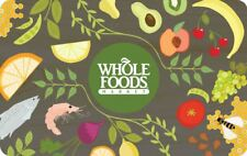 Whole Foods Store Gift Card Certificate $100 Value – Fast Delivery