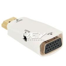 Adaptador video HDMI a VGA Conversor Señal Vídeo y Audio v158