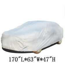 IntBuying M Size PEVA Material Full Car Cover Waterproof Universal Car Cover NEW