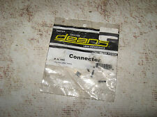 Vintage RC WS Deans 2 Pin Plug Male & Female 1002