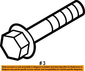 FORD OEM Belt or Pulley-Belt Tensioner Mount Bolt W503296S437