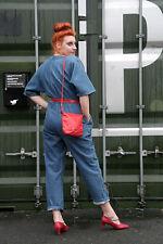Etienne Aigner Tasche Damen Handtasche ROT Design 80er True VINTAGE 80s hand bag
