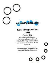 Evil Respirator LPR Paintball O-ring Oring Kit x 4 rebuilds / kits