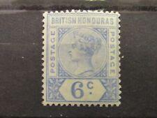 British Honduras QV  6 Cent. VLHM. S.G.56. Superb