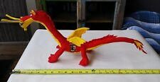 Siena Red/Yellow Dragon plush stuffed animal bendable poseable