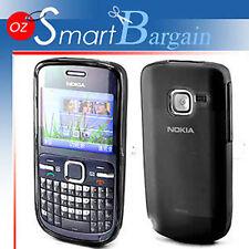 New Black Soft Gel TPU Cover Case For Nokia C3-00 C3