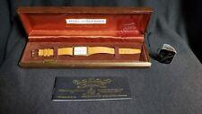 Vintage Jules Jurgensen Ladies Wrist Watch With Original Box, Booklet, And Tag