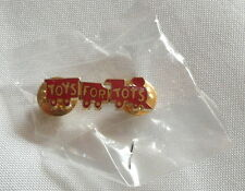TOYS FOR TOTS CLASSIC TRAIN COLLECTABLE LAPEL PIN  >NEW<