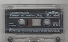 MC Astrid Lindgren : Karlsson auf dem Dach Folge 1 Kassette