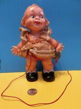 New ListingAntique Doll Miniature German Celluloid Original Tags & Clothes Puppen Edi 1900'