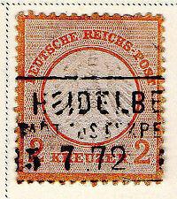 8 Number Postage German & Colonies Stamps