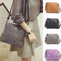 US Women Leather Crossbody Shoulder  Handbag Tote Messenger Satchel Phone