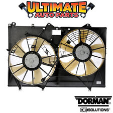 Radiator Cooling Dual Fan (3.5L V6) for 11-13 Toyota Highlander (Hybrid)