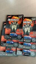 **6 PILLS** RHINO 11 Super Long Lasting 30000 Male Enhancement