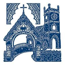 New Tattered LaceChurch Arch Card Metal Die Cuts By Stephanie Weightman 448597