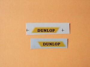 "Matchbox Lesney 1-75 Series No 25a Bedford ""Dunlop"" Van  Transfers/Decals"