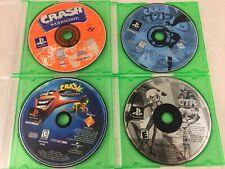 Crash Bandicoot 1 + 2 + Warped + CTR - ORIGINAL Playstation 1 PS1