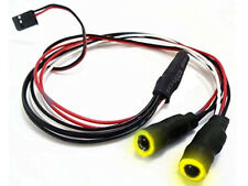 LED Angel Eyes RC Car or Drone Lights 9.4mm (YELLOW)