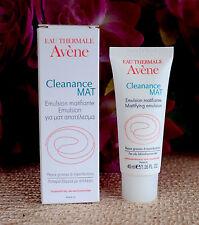 Avene Cleanance MAT Mattifying Emulsion For Oily, Blemish-Prone Skin ,40ml