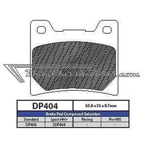 Brake Pads / Pastillas de freno DPBrake SDP404HH+