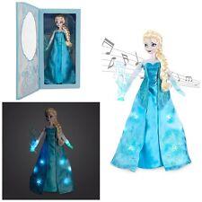 Orig. Disney - Singende leuchtende Elsa - Eiskönigin - Deluxe Puppe 40 cm - NEU