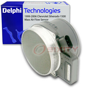 Delphi Mass Air Flow Sensor for 1999-2006 Chevrolet Silverado 1500 4.3L 4.8L yj