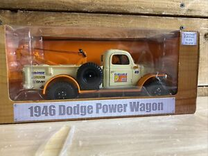 1/25 1946 Dodge Power Wagon Federated Auto tow truck Diecast never opened