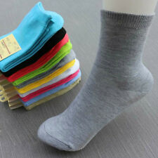New Ladies Women Girls Candy Colored Cute Socks Middle Tude Socks