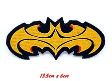 Big Batman Logo comic character Iron or Sew on Embroidered Patch #561