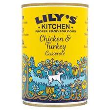 Lilys Kitchen Dog Homestyle Chicken and Turkey Casserole 400g