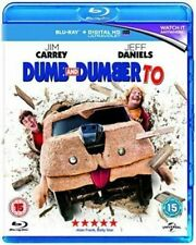 Dumb and Dumber to Blu-ray 2014 DVD Region 2