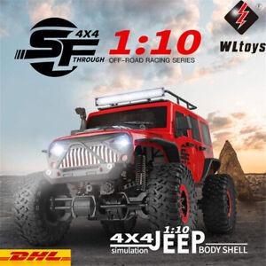 WLtoys 104311 2.4GHz 1/10 4WD RC Auto Crawler Ferngesteuertes Off-road Buggy Car