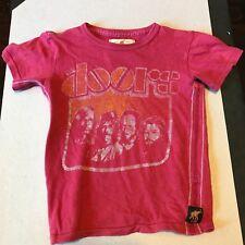 The Doors T-Shirt Trunk Original Ltd Limited Edition Kids Shirt Size 4/5 Red