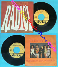 LP 45 7'' CHOCOLAT'S Radici Nostalgia disco medley 1978 italy DERBI no cd mc dvd
