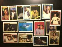 (15)-1979 Topps Star Trek The Motion Picture Cards-EXNM-FREE SHIPPING
