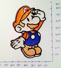 Super Mario Nintendo Iron On/Sew On Patch/Badge Embroidered Fancy Dress #6