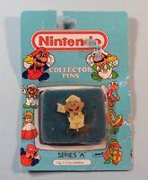 1989 Nintendo Collector Pin Luigi Standing Sealed NIB ACE Series A #2 NES era