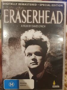 ERASERHEAD DVD DAVID LYNCH FILM CLEANED & REMASTERED SPECIAL EDITION JACK NANCE