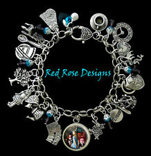~ALICE IN WONDERLAND INSPIRED CHARM BRACELET~