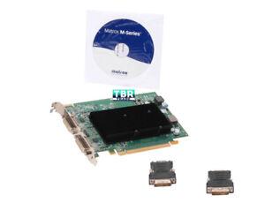 Matrox m9120 Graphics Video Card PCI Express x16 512MB m9120-E512F
