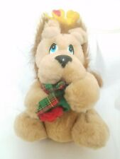 Vintage 1988 Applause Stuffed Valentine's Lion Heart doll Plush