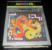 Vintage Arcadia Jungler Video Game Cartridge 23 2001 Emerson RARE
