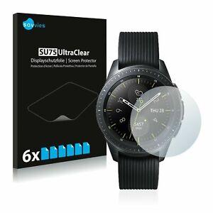 Samsung Galaxy Watch (42 mm) , 6x Transparent ULTRA Clear Screen Protector