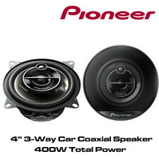 "PIONEER TS-G1030 10cm 4"" 10cm 400W PAIR CAR SPEAKERS 3WAY Coaxial Co axial"