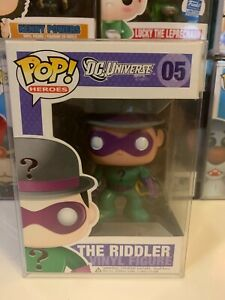Funko Pop The Riddler #05 Vaulted Grail DC Universe