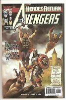 °AVENGERS  #2 Heroes Return/THE MORGAN CONQUEST 2 of 3 ° US Marvel Variant Cover