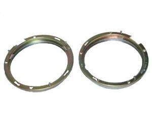 """Headlight Retaining Holding Inner Bezel Rim Set Trim 7"""" For Morris Willys S2u"""