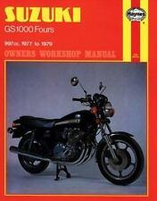 1977 1978 1979 Suzuki GS1000 Haynes Repair Service Shop Workshop Manual 484