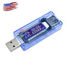 USB Charger Doctor Voltage Meter Ammeter Amp Volt Tester Power Detector