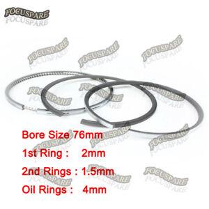 Piston Ring Set STD 16271-21050 For Kubota V1305, D1005, 76MM (for 1 engine)